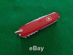 Old VERY RARE early VICTORINOX L. Lorenzi Montreux ETCH SWISS ARMY Knife NICE