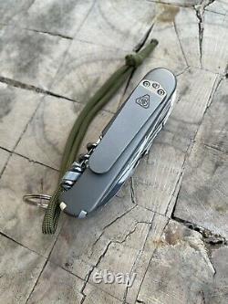 Prometheus Design Werx PDW Swiss Army Knife Custom SAK Titanium Scales