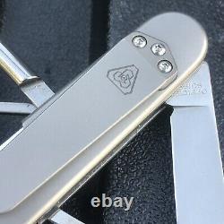 Prometheus Design Werx Titanium Victorinox Custom Swiss Army knife