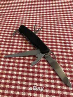 RARE Black Wenger Ranger 78 Swiss Army Knife 1.077.078.000. US