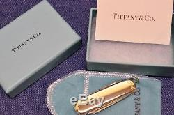RARE TIFFANY Sterling Silver Gold 18k VICTORINOX Swiss Army Knife NOS New in Box