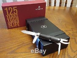 RARE! The 125th anniversary heritage Swiss army knife Victorinox