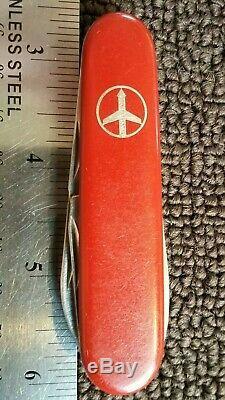 RARE VICTORIA SWISSAIR SWISS ARMY VICTORINOX TOURIST Pocket Knife MULTI TOOL