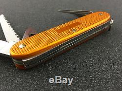 RARE Victorinox 93mm Swiss Army Knives FARMER Knife 0.8241.281RUS2 Orange ALOX