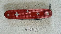 RARE Victorinox Swiss Army BSA Boy Scout Pioneer Red Alox Knife