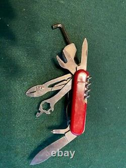 RARE! Wenger Delemont Special Edition BMC Bike Swiss Army Knife