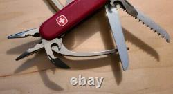 RARE Wenger Delemont Swiss Army Minigrip Knife Pliers Serrated Excellent B85