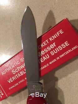 Rare 80's Victorinox Bantam Coca-Cola Coke 84mm Swiss Army Knife