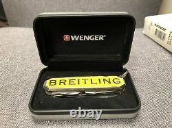 Rare Breitling Knife Multi Tool Swiss Army Camping made by Wenger