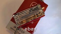Rare Couteau Suisse Wenger Delemont Model 15403 Swiss Army Knife