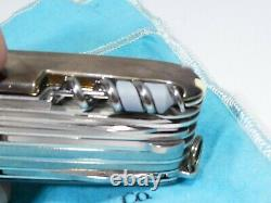 Rare Large Tiffany Sterling Victorinox Silver Swiss Army Knife