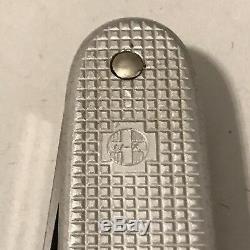 Rare Victorinox Elsener Victoria 1970 Alox Swiss Army Knife +Pat