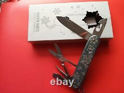 Rare Victorinox Pioneer X Winter Magic 2020 LIMITED EDITION Swiss Army Knife
