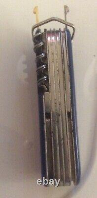 Rare Victorinox Post World War Officer Suisse Fish Design Swiss Army Knife