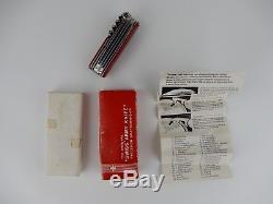 Rare Vintage Victorinox Champion Swiss Army Knife & Original Red Box 1970s