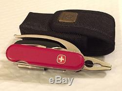 Rare Vintage Wenger Swiss Army Knife New Unused With Case