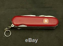 Rare Wenger Serrated Master Swiss Army Knife / 85mm with Locking Blade