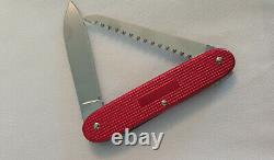 Rare and Collectible Victorinox Swiss Army Knife Red Alox Woodsman Brand New