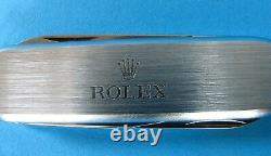 Rolex Swiss Army Pocket Knife Wenger, Discontinued Rolex Promotional Accessory(b)