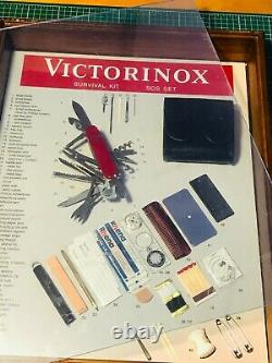SUPER Rare Victorinox SOS KIT DISPLAY MODEL Counter top Swiss Army knife