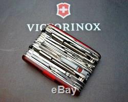 SWISS ARMY KNIFE, Swiss Army Swiss Champ XAVT, RUBY, BOXED, 1.6795. XAVT