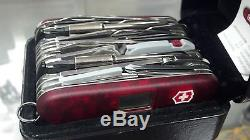 SWISS ARMY KNIFE, Swiss Army SwissChamp XAVT, RUBY, BOXED, 53509