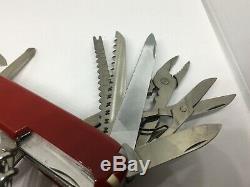 SWISS ARMY KNIFE Victorinox Swiss Champ Super Timer 91mm rare
