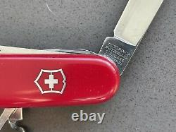 SWISS ARMY VICTORINOX KNIFE 91mm YEOMAN BOY SCOUT Retired Collectible Mod