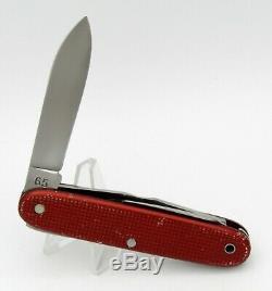 Schweizer Soldatenmesser VICTORINOX ELSENER 1965, RED ALOX, SWISS ARMY KNIFE