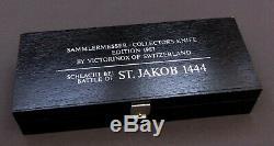Schweizer Taschenmesser, VICTORINOX BATTLE KNIFE St. Jakob, SAK, swiss army knife