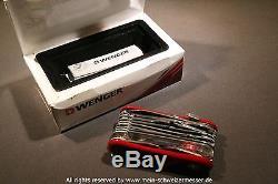 Schweizer Taschenmesser Wenger (Victorinox), EvoGrip S54, swiss army knife NOS