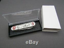 Schweizer Taschenmesser, veredeltes VICTORINOX SPARTAN, swiss army knife