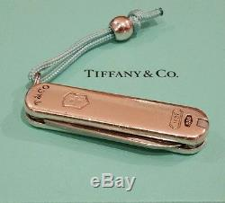 Signed Designer TIFFANY & Co. 1837 Swiss Army Knife Sterling Silver NLA Retired