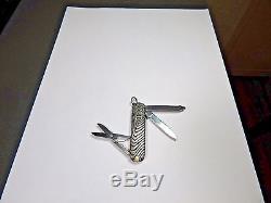 Sterling Silver DAVID YURMAN Iron Wood Design Swiss Army Knife Very Fine Shape