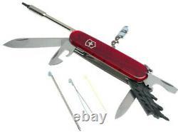 Swiss Army Cybertool 29 Pocket Knife by Victorinox Swiss Army, Translucent Ruby