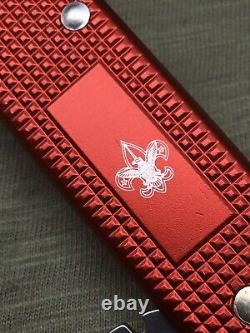 Swiss Army Knife 93 mm Victorinox Red Alox Old Cross BSA Boy Scout