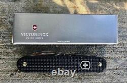 Swiss Army Knife, Pioneer Black Alox, Victorinox 54968, New In Box