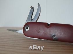 Swiss Army Knife SAK Victorinox Mod 1951 WK Soldier Vintage