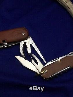 Swiss Army Knife Soldat WENGER Delemont 1941 and INOX