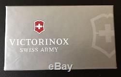 Swiss Army Knife, Sterling Silver Classic, Victorinox 53039, Engraved Free, NIB