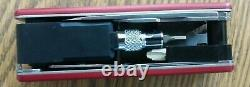 Swiss Army Knife VICTORINOX SPORT RATCHET 53917 Nice used Discontinued multitool