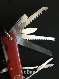 Swiss Army Knife Victorinox 91mm Champion early model Victoria, rare