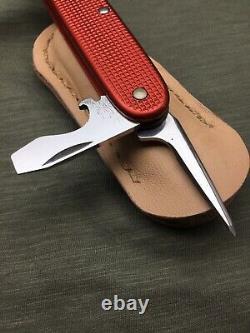 Swiss Army Knife Victorinox Alox 93 mm Old Cross Brass Liner No Keyring