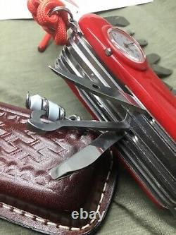Swiss Army Knife Victorinox Swiss Champ Super Timer 91 (and bonus)