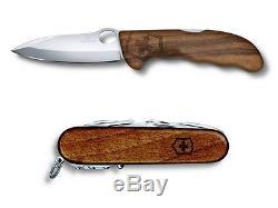 Swiss Army Knife Victorinox Swisschamp Wood Walnut + Hunter Pro Wood Walnut