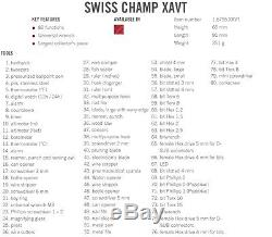 Swiss Army Knife Victorinox Swisschamp Xavt 1.6795. Xavt