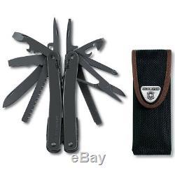 Swiss Army Knife Victorinox Swisstool Spirit Xbs 3.0224.3cn Black With Pouch
