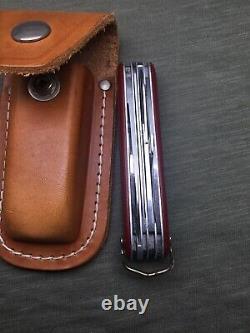 Swiss Army Knife Victorinox Victoria 91mm Sport Woodsman 1954 Year Model 236