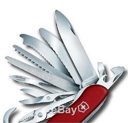 Swiss Army Knife Victorinox Workchamp XL Red 0.8564. XL New Model 2017