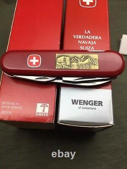 Swiss Army Knife Vintage 2000 WENGER 1 511 02 M PATROUILLE DES GLACIERS